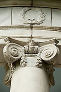 A  detail  of the gazebo at Nemours, the former 300 acre estate of Alfred I. du Pont, is named after the du Pont ancestral home in north central France. The Mansion is an excellent example of modified Louis XVI French château. It was designed by Carrere and Hastings of New York City and was built between 1909 and 1910 by Smyth and Son of Wilmington, Delaware. The mansion has 102 rooms and is furnished, as you would expect, with fine period antiques, rare oriental rugs, tapestries and paintings dating back as far as the 15th century. ..2 July 2009.(Photography © Jim Graham 2009)