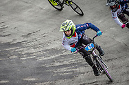 #67 & #19 during practice at the 2018 UCI BMX World Championships in Baku, Azerbaijan.