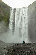Skogafoss waterfall in South Iceland
