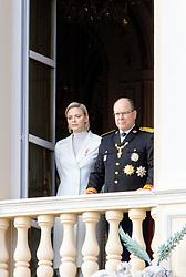 November 19, 2019, Monaco, Monaco: 19-11-2019 Monte Carlo Prince Albert II of Monaco and Princess Charlene during the Monaco national day celebrations in Monaco. (Credit Image: © face to face via ZUMA Press)