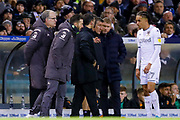 Leeds United Manager Marcelo Bielsa  during the EFL Sky Bet Championship match between Leeds United and Hull City at Elland Road, Leeds, England on 10 December 2019.