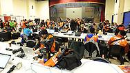 FUDBAL, JOHANEZBURG, 14. Jun. 2010. -Pres centar na stadionu  Ellis park u Johanezburgu. Detalji sa ulica Johanezburga tokom trajanja Svetskog prvenstva u fudbalu. Foto: Nenad Negovanovic