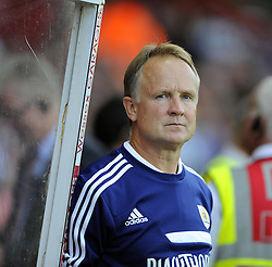 Bristol City Head coach, Sean O'Driscoll  - Photo mandatory by-line: Joe Meredith/JMP - Tel: Mobile: 07966 386802 27/08/2013 - SPORT - FOOTBALL - Ashton Gate - Bristol - Bristol City V Crystal Palace -  Capital One Cup - Round 2