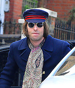 23.MARCH.2011. LONDON<br /> <br /> LIAM GALLAGHER ARRIVING BACK HOME GREETED BY HIS WIFE NICOLE APPLETON IN LONDON AFTER TOURING WITH HIS BAND BEADY EYE.<br /> <br /> BYLINE: EDBIMAGEARCHIVE.COM<br /> <br /> *THIS IMAGE IS STRICTLY FOR UK NEWSPAPERS AND MAGAZINES ONLY*<br /> *FOR WORLD WIDE SALES AND WEB USE PLEASE CONTACT EDBIMAGEARCHIVE - 0208 954 5968*