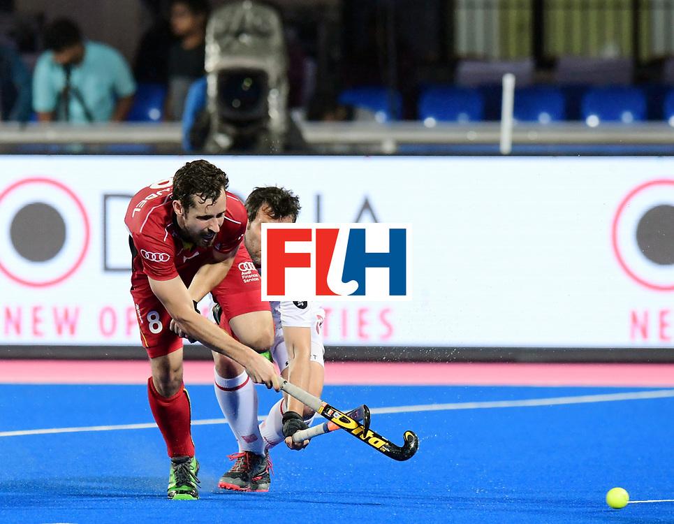 Odisha Men's Hockey World League Final Bhubaneswar 2017<br /> Match id:18<br /> Belgium v Spain<br /> Foto: Florent van Aubel (Bel) <br /> COPYRIGHT WORLDSPORTPICS FRANK UIJLENBROEK