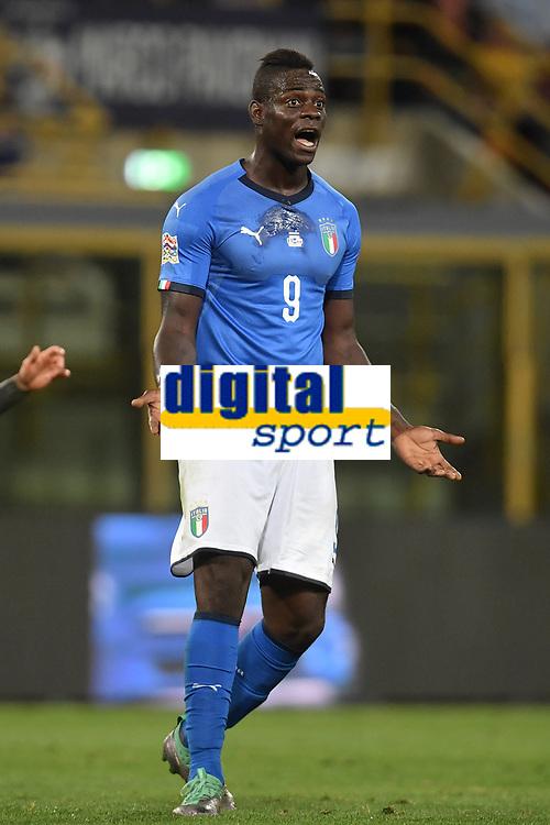 Mario Balotelli Italy.<br /> Bologna 07-09-2018 <br /> Football Calcio Uefa Nations League <br /> Italia - Polonia / Italy - Poland <br /> Foto Andrea Staccioli / Insidefoto