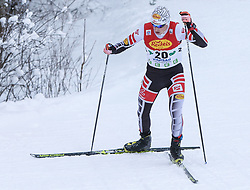 16.12.2017, Nordische Arena, Ramsau, AUT, FIS Weltcup Nordische Kombination, Langlauf, im Bild Christian Deuschl (AUT) // Christian Deuschl of Austria during Cross Country Competition of FIS Nordic Combined World Cup, at the Nordic Arena in Ramsau, Austria on 2017/12/16. EXPA Pictures © 2017, PhotoCredit: EXPA/ Martin Huber