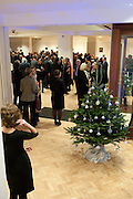 Bonhams Auction house hosts festive drinks to preview the first phase of the reconstruction of its Mayfair Headquarters - due for completion in 2013.<br /> Bonhams, 101 New Bond Street, London, 19 December 2011.