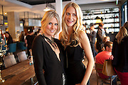 KIT WILLOW; POPPY DELEVIGNE; , Willow launch.  The Riding House Cafe, Great Titchfield St. London. 22 June 2011. <br /> <br />  , -DO NOT ARCHIVE-© Copyright Photograph by Dafydd Jones. 248 Clapham Rd. London SW9 0PZ. Tel 0207 820 0771. www.dafjones.com.