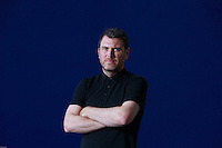 Edinburgh International Book Festival 2013 portrait of Glyn Dillon at Charlotte Square Garden <br /> <br /> Pic by Pako Mera