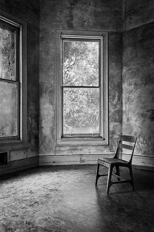 Lonely Chair, Preston Castle, Ione, CA