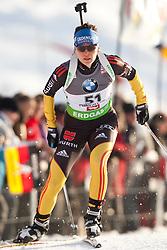 09.12.2011, Biathlonzentrum, Hochfilzen, AUT, E.ON IBU Weltcup, 2. Biathlon, Herren 10km Sprint, im Bild Kathrin Hitzer (GER) // Kathrin Hitzer of Germany during men 10km Sprint at E.ON IBU Worldcup 2th Biathlon, Hochfilzen, Austria on 2011/12/09. EXPA Pictures © 2011, PhotoCredit: EXPA/ Johann Groder