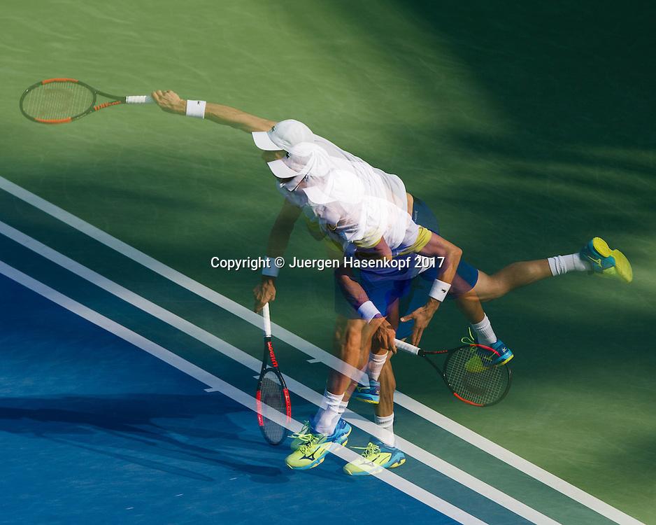 ROBERTO BAUTISTA AGUT (ESP)<br /> <br /> Tennis - Dubai Duty Free Tennis Championships - ATP -  Dubai Duty Free Tennis Stadium - Dubai -  - United Arab Emirates  - 1 March 2017. <br /> &copy; Juergen Hasenkopf