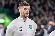 Celtic Shot Stopper Fraser Forster during the Europa League match between Celtic and FC Copenhagen at Celtic Park, Glasgow, Scotland on 27 February 2020.