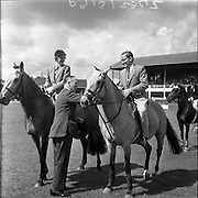 R.D.S. Horse Show, Tuesday, Northern Winner at the Dublin Horse Show. 08.08.1961