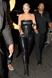 EXCLUSIVE: Kylie Jenner and Travis Scott are both spotted leaving the VMA After Party in 1 OAK in New York. 21 Aug 2018 Pictured: Travis Scott and Kylie Jenner. Photo credit: Mr. Sneaky / MEGA TheMegaAgency.com +1 888 505 6342