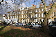 Addington Square, a Georgian and Regency garden square in Camberwell in the London Borough of Southwark, named after prime minister, Henry Addington.