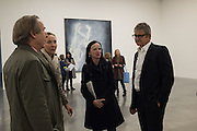 SIMON DE PURY; MICHAELA DE PURY; BETTINA VON HASE; JAY JOPLING, Georg Baselitz, White Cube, Bermondsey. London. 26 April 2016