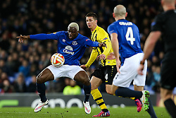 Everton's Arouna Kone controls the ball  - Photo mandatory by-line: Matt McNulty/JMP - Mobile: 07966 386802 - 26/02/2015 - SPORT - Football - Liverpool - Goodison Park - Everton v Young Boys - UEFA EUROPA LEAGUE ROUND OF 32 SECOND LEG