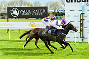 Tinto ridden by Robert Havlin and trained by Amanda Perrett in the Value Rater Racing Club Is Free Handicap race. Dark Shadow ridden by Hector Crouch and trained by Clive Cox in the Value Rater Racing Club Is Free Handicap race.  - Mandatory by-line: Ryan Hiscott/JMP - 01/05/2019 - HORSE RACING - Bath Racecourse - Bath, England - Wednesday 1 May 2019 Race Meeting