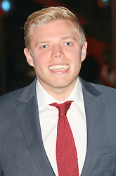 © Licensed to London News Pictures. 12/03/2014, UK. Rob Beckett, The British Academy (BAFTA) Games Awards, Tobacco Dock, London UK, 12 March 2014. Photo credit : Richard Goldschmidt/Piqtured/LNP