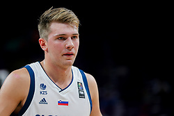 Luka Doncic of Slovenia during basketball match between National Teams of Germany and France at Day 10 in Round of 16 of the FIBA EuroBasket 2017 at Sinan Erdem Dome in Istanbul, Turkey on September 9, 2017. Photo by Vid Ponikvar / Sportida