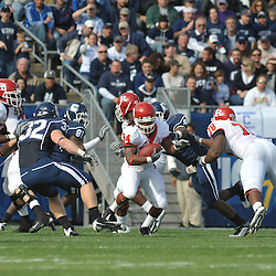 Oct 31, 2009; East Hartford, CT, USA; Rutgers running back De'Antwan Williams (34) runs the ball during first half Big East NCAA football action between Rutgers and Connecticut at Rentschler Field.