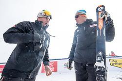 17.01.2017, Hahnenkamm, Kitzbühel, AUT, FIS Weltcup Ski Alpin, Kitzbuehel, Abfahrt, Herren, Streckenbesichtigung, im Bild Rennleiter Axel Naglich, Markus Walder (FIS Renndirektor) // Race director Axel Naglich and FIS race director Markus Walder during the course inspection for the men's downhill of FIS Ski Alpine World Cup at the Hahnenkamm in Kitzbühel, Austria on 2017/01/17. EXPA Pictures © 2017, PhotoCredit: EXPA/ Johann Groder