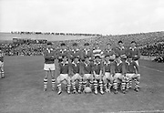 22/09/1968<br /> 09/22/1968<br /> 22 September 1968<br /> All Ireland Minor Football Final: Sligo v Cork at Croke Park Dublin. The Sligo team.The Cork team which beat Sligo 3 goals and 5 points to 1 goal and 10 points in the minor all-Ireland in Croke Park Sunday 22nd September 1968.
