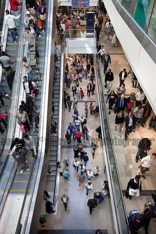 LOCATION, UK . 13th Sept 2011opening of Westfield Stratford City..Singer Nicole Scherzinger at the Opening of Westfield Shopping Centre , Stratford..Photo Credit Andrew Baker