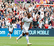 Swansea City v West Bromwich Albion 300814
