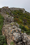 """The ancient Hellenic city of Polyrinia, Crete. The place name means """"many sheep"""" and it was the most fortified city in ancient Crete."""