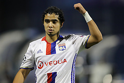 Rafael of Lyon during football match between GNK Dinamo Zagreb and Olympique Lyonnais in Group H of Group Stage of UEFA Champions League 2016/17, on November 22, 2016 in Stadium Maksimir, Zagreb, Croatia. Photo by Morgan Kristan / Sportida