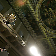 Pres. Bush speaks about the relationship between the United Kingdom and the United States during a foreign policy speech Wednesday, November 19, 2003, in London...Photo by Khue Bui