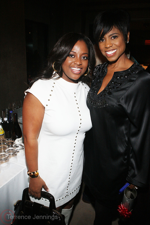 l to r: Sheri Shepard and Jackie Reid at Rev. Al Sharpton's 55th Birthday Celebration and his Salute to Women on Distinction held at The Penthouse of the Soho Grand on October 6, 2009 in New York City
