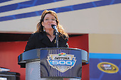Sarah Palin at Daytona 500