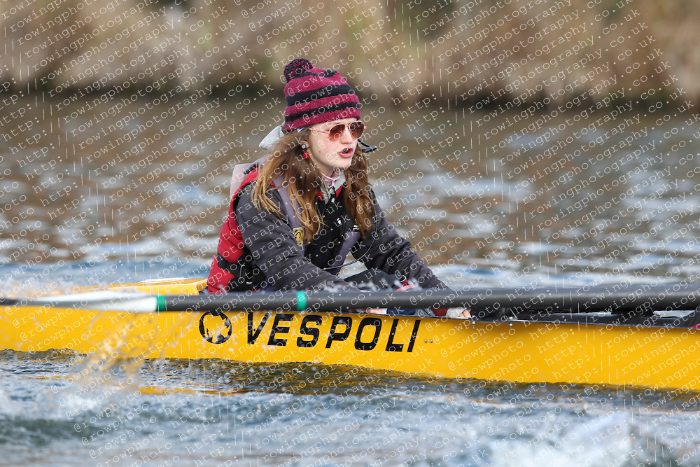 2012.02.25 Reading University Head 2012. The River Thames. Division 1. Bristol University Boat Club IM3 8+