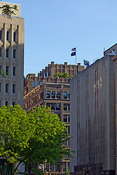 13 May 2013:  Assortment of buildings in downtown Indianapolis Indiana