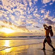 Temazcal ceremony by the beach. Punta Maroma, Riviera Maya.