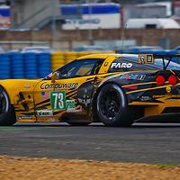 #73 Chevrolet Corvette C6.R, GTE Pro, Corvette Racing Drivers:  Antonio García, Jan Magnussen, Jordan Taylor, Le Mans 2012