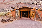 Blacksmith shop in Fruita, Capitol Reef National Park, Utah