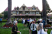 Content Magazine host their Pick Up Party at Winchester Mystery House in San Jose, California, on August 21, 2018. (Stan Olszewski/SOSKIphoto)