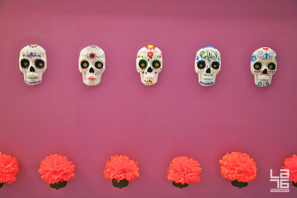mexican skulls art la76 lifestyle and editorial photography