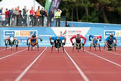 ROWLINGS Ben, TOWERS Isaac, MANNI Henry, MITIC Bojan, MOBRE Sebastien, MANNI Tuomas, 2014 IPC European Athletics Championships, Swansea, Wales, United Kingdom