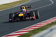February 20, 2013 - Barcelona Spain. \f1  during pre-season testing from Circuit de Catalunya.