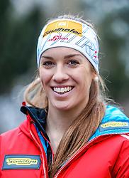01.02.2017, Biathlonarena, Windischgarsten, AUT, IBU Weltmeisterschaft Biathlon, Hochfilzen, Medientag OeSV, im Bild Fabienne Hartweger (AUT) // Fabienne Hartweger of Austria during the Austrian Ski Federation Media Day infront of the IBU Biathlon World Championships 2017 at the Biathlonarena, Windischgarsten, Austria on 2017/02/01. EXPA Pictures © 2017, PhotoCredit: EXPA/ JFK