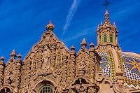 Museum of Man, El Prado, Balboa Park, San Diego, California USA.