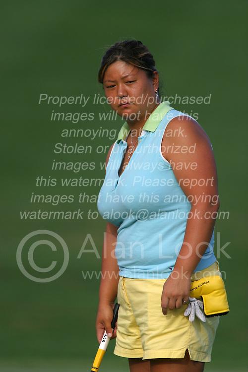 30 Aug 2005<br /> <br /> Christina Kim.<br /> <br /> State Farm Classic, LPGA Golf Tournament, Tuesday Practice, The Rail Golf Course, Springfield, IL