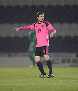 Scotland's Craig Wighton - Scotland under 21s v Estonia international challenge match at St Mirren Park, St Mirren. Pic David Young<br />  <br /> - &copy; David Young - www.davidyoungphoto.co.uk - email: davidyoungphoto@gmail.com