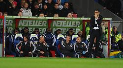 Sunderland Manager, Gustavo Poyet - Photo mandatory by-line: Alex James/JMP - Mobile: 07966 386802 - 03/11/2014 - SPORT - Football - London - Selhurst Park - Crystal Palace v Sunderland - Barclays Premier League